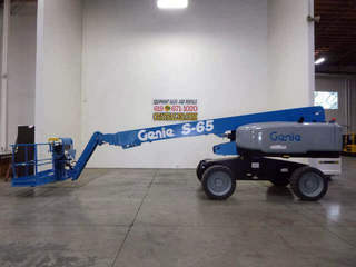 Used Telescopic Boom Lifts For Sale | Genie S65 & JLG 600S on