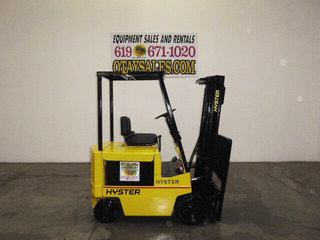 4-Wheel Electric Sit Down Forklifts