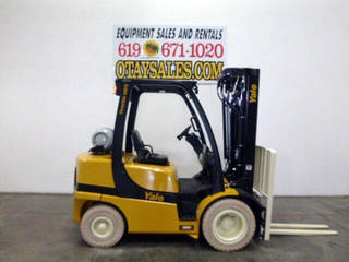 Pneumatic Indoor/Outdoor Forklifts