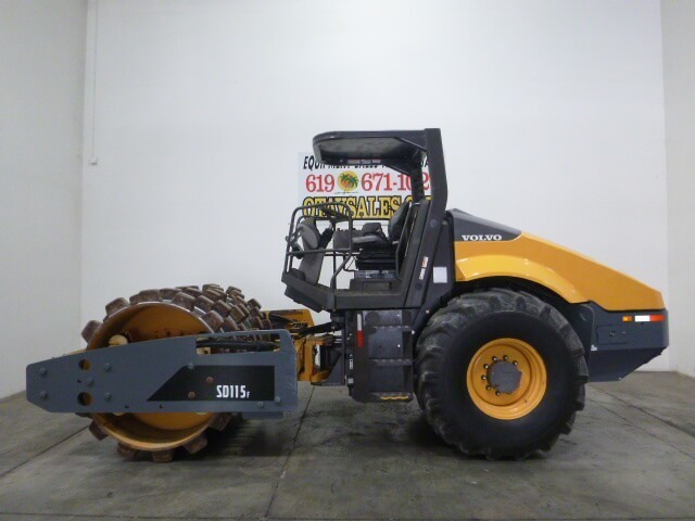 VOLVO SD115 PADFOOT ROLLER