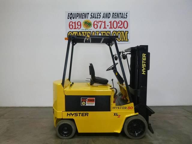 Hyster E80XL