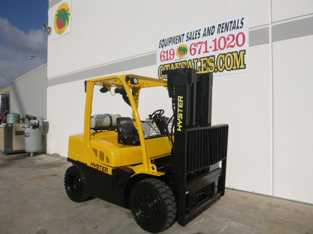 Used Hyster Forklifts (Electric, Propane & Diesel) H80FT