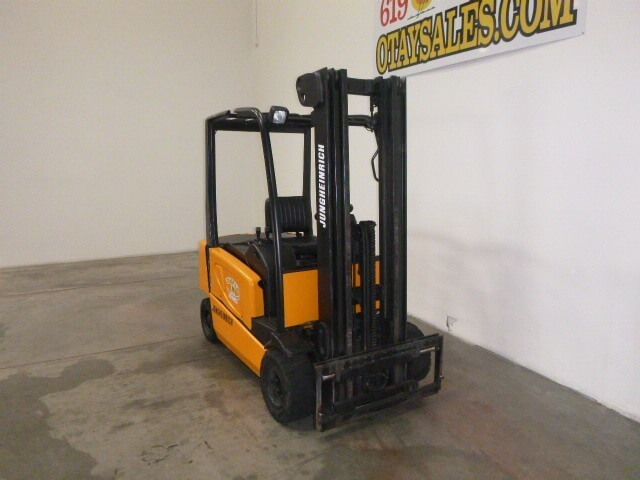 Electric Forklift Jungheinrich Erv308: JUNGHEINRICH 4,000LB EFG-VAC20 ELECTRIC FORKLIFT