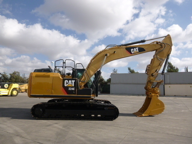Excavators (19,000 LB or More)